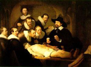 de anatomische les van Dr. nicolaes tulp rembrandt 1632